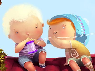 Chuk and Gek illustration max kostenko