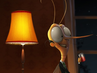 Mosquito illustration max kostenko