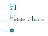 Hack the Hackpad logo