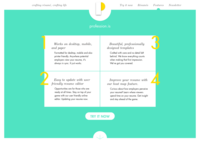 profession.is landing page
