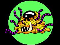 Alien Tentacles Darrell Slime