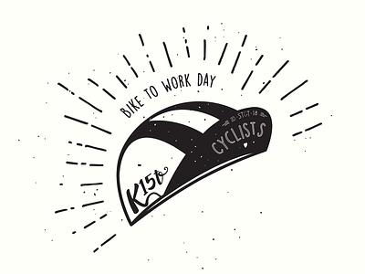 Illustration – K15t Bike to Work Day