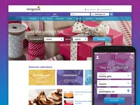 LivingSocial Gifts Homepage