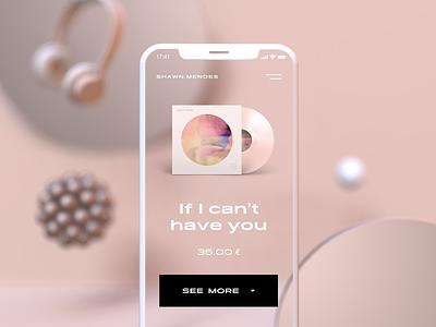 Music UI design userinterface mobile design mobile ui ui  ux uidesign ui design music app music 3dscene 3d artist 3d art 3d concept typography ux pastel minimal ui gradient design