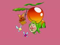 Floating Away - Zelda Fan Art