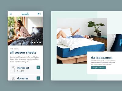 Koala web design branding ui