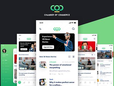 Chamber of Commerce trend trending ui lifestyle italy coronavirus news clay render tushar saini app design ux app vr character 3d design ui