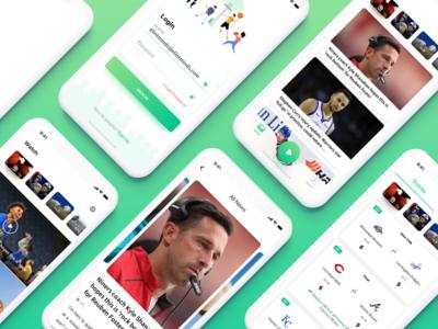 Awepha - Sports App