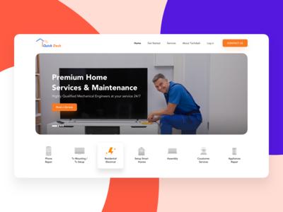 Quick Deck - Home Services