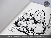 Wacky Aliens - A coloring book / Preview 05