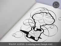 Wacky Aliens - A coloring book / Preview 09