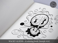 Wacky Aliens - A coloring book / Preview 10