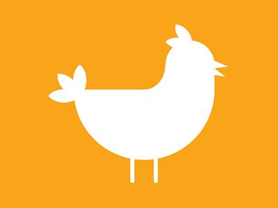 chicken chicken flat icon mark