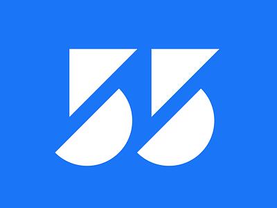 55 logo design vector w icon flat logo 55