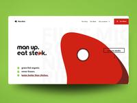 "Web Design Concept: ""Moo Moo"""