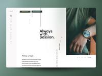 """Web Design Concept: """"Rommē"""""""