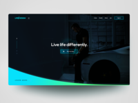 """Web Design WIP: """"Life by Design"""""""
