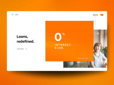 "Web Design Concept: ""WEHU"""