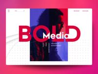 Bold Website Concept