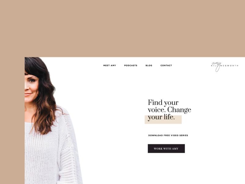 Work in Progress - Minimal Personal Brand