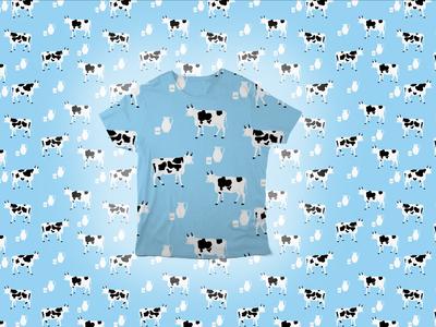 Farm Animal Pattern - Cows