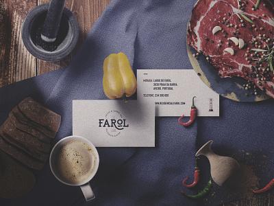 CAFÉ FAROL design traditional strategy logodesign logo branding brand identity brand