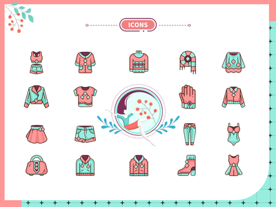 icons for women's wear