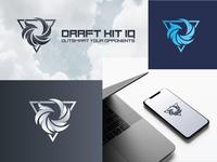 Abstract Logo Mark - Draft Kit IQ
