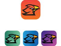 Mobile App Icon Phoenix
