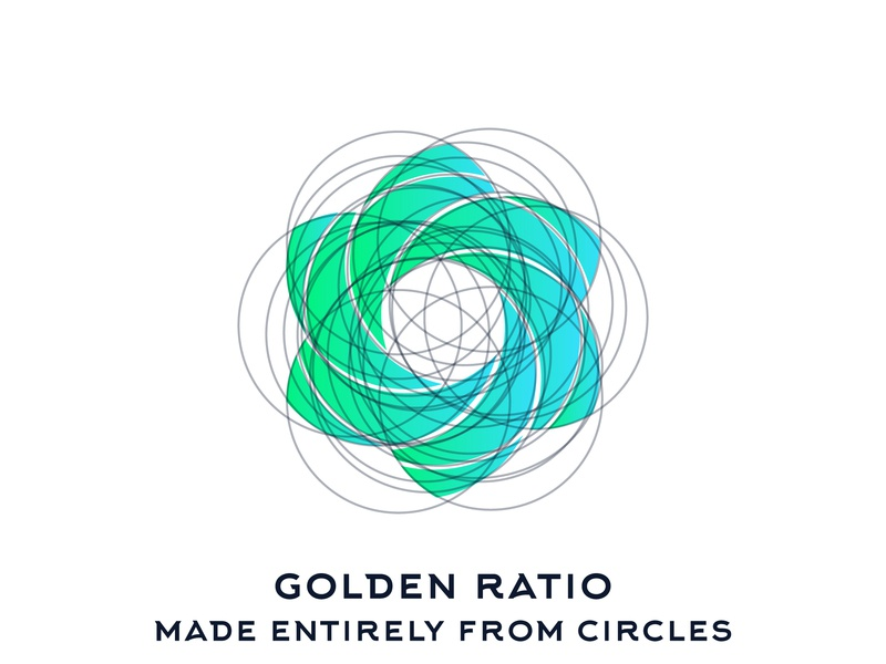 Abstract Mark Golden Ratio cosmetics abstract mockup identity abstract mark vector branding logo design flat design brand icon minimal graphic design perfect round logo golden ratio goldenratio