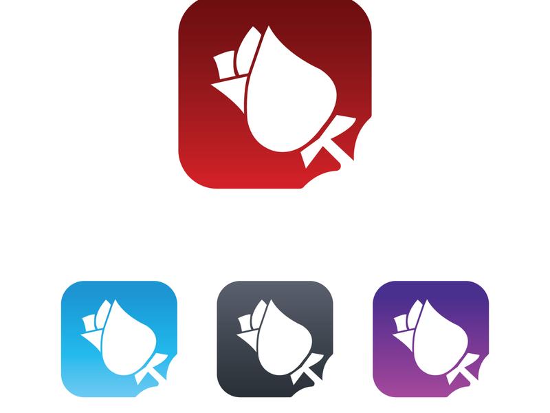 Dating Icon logo design logo branding minimal design icon brand art app icon app flower rouse rose dating