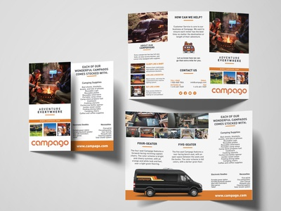 Brochure for Camper Van Rental