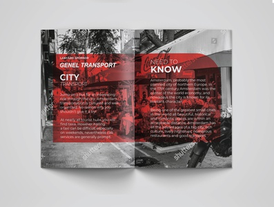 Text-Heavy Brochure Layout ux ui branding minimal flat brand mockups brochure template brochure mockup brochure design layout design text text-heavy brochure
