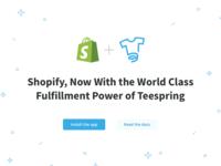 Teespring Fulfillment App