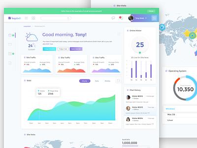 Dashboard Template - work in progress sketchapp sketch webdesign web website ui ux site management desktop dashboard