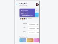 Schedule University App