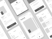 Bookstore App Wireframe