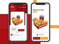 KFC Delivery App Exploration