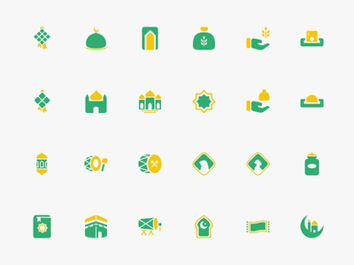 Ramadhan & Eid al-Fitr Theme Icons