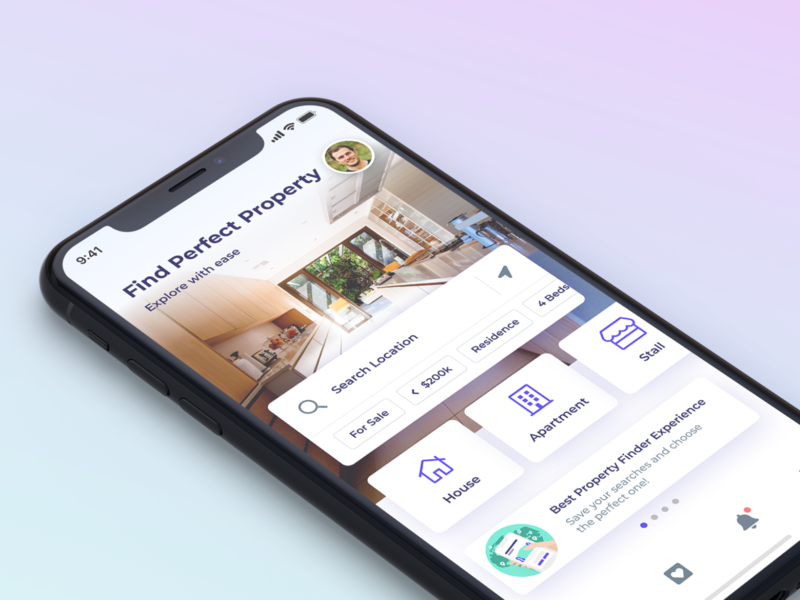 Oemah Finder figma kit directory listing mobile property house apartment stall find explorer search location home ios ui ux app