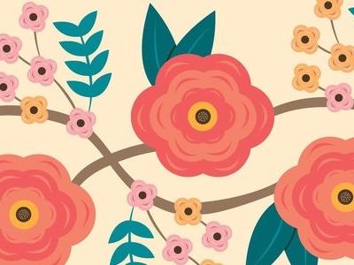 Floral Pattern pattern flowers