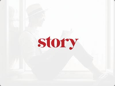 Story Logo 01 design grapgic design illustration logo branding