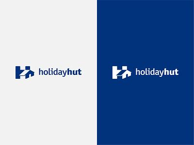 HolidayHut grapgic design logo branding