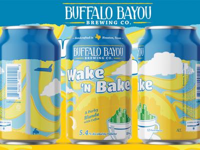 Wake 'N Bake Beer Can