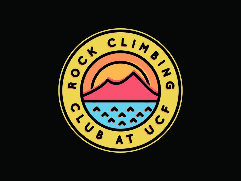 UCF illustrator rock climbing orlando