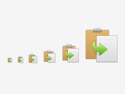 Paste Icon elementary icon paste