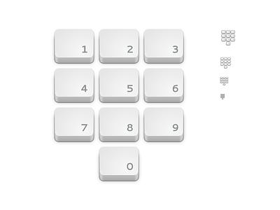Generic Dialpad Icon inkscape icon gnome