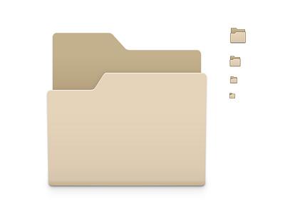 Folder Icons inkscape icon gnome