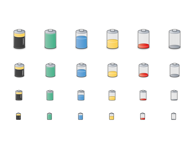 Battery Icons linux inkscape icon