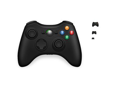360 Controller Icon macos inkscape icon